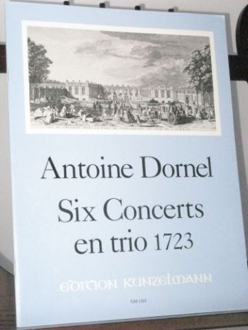 Dornel A - 6 Trios for 2 Melody Instruments & Basso Continuo